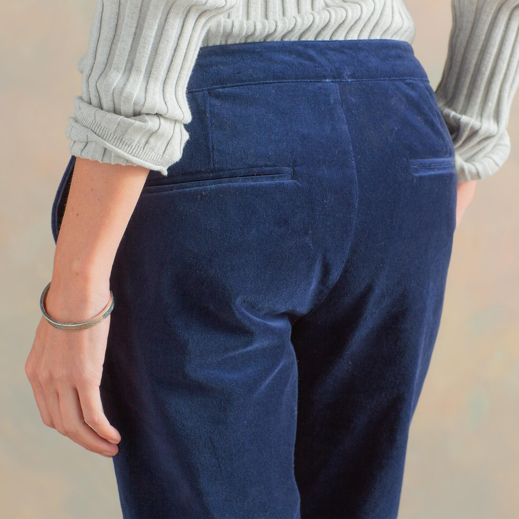 RELAXED VELVETEEN PANTS: View 4
