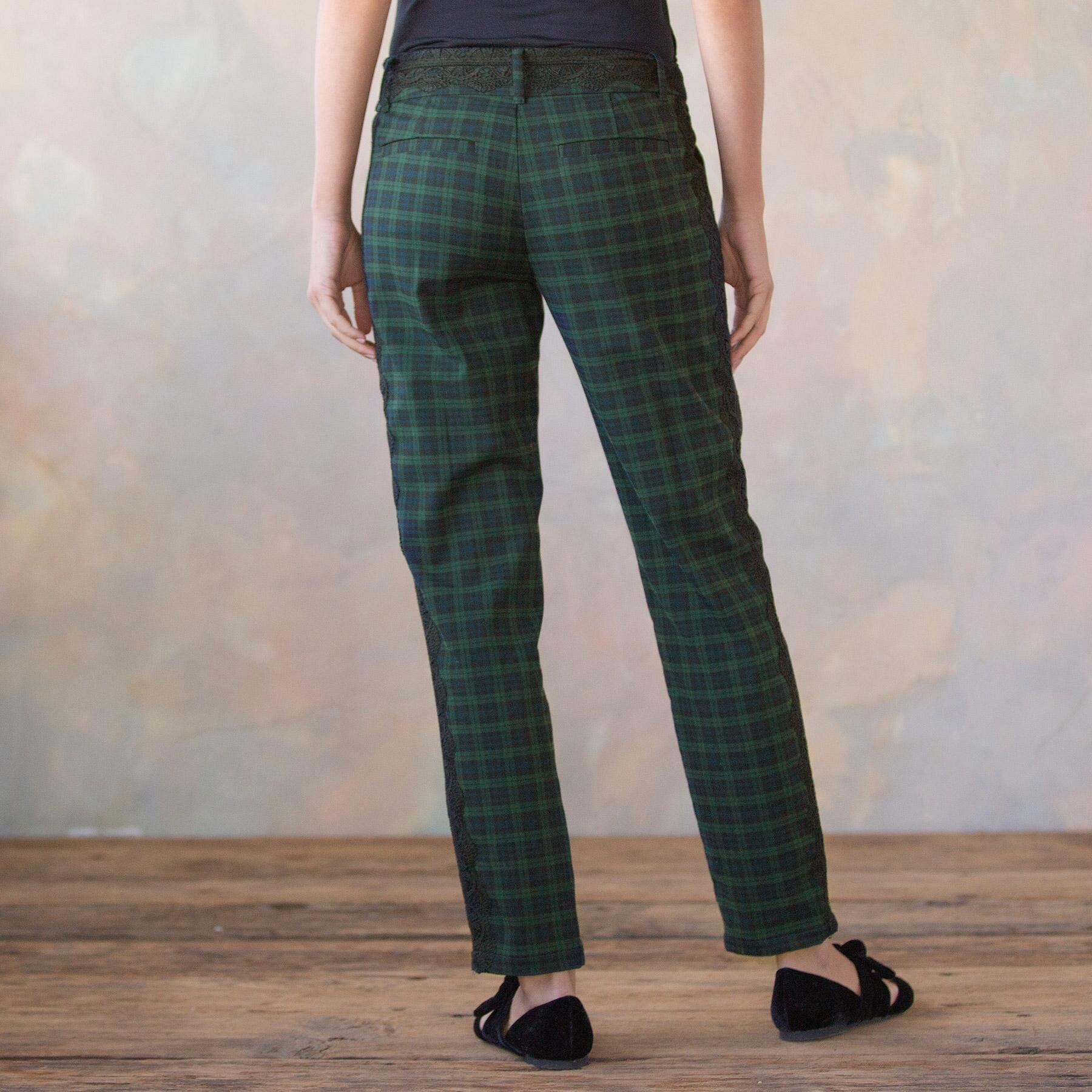 DRESSED UP PLAID TROUSERS: View 2
