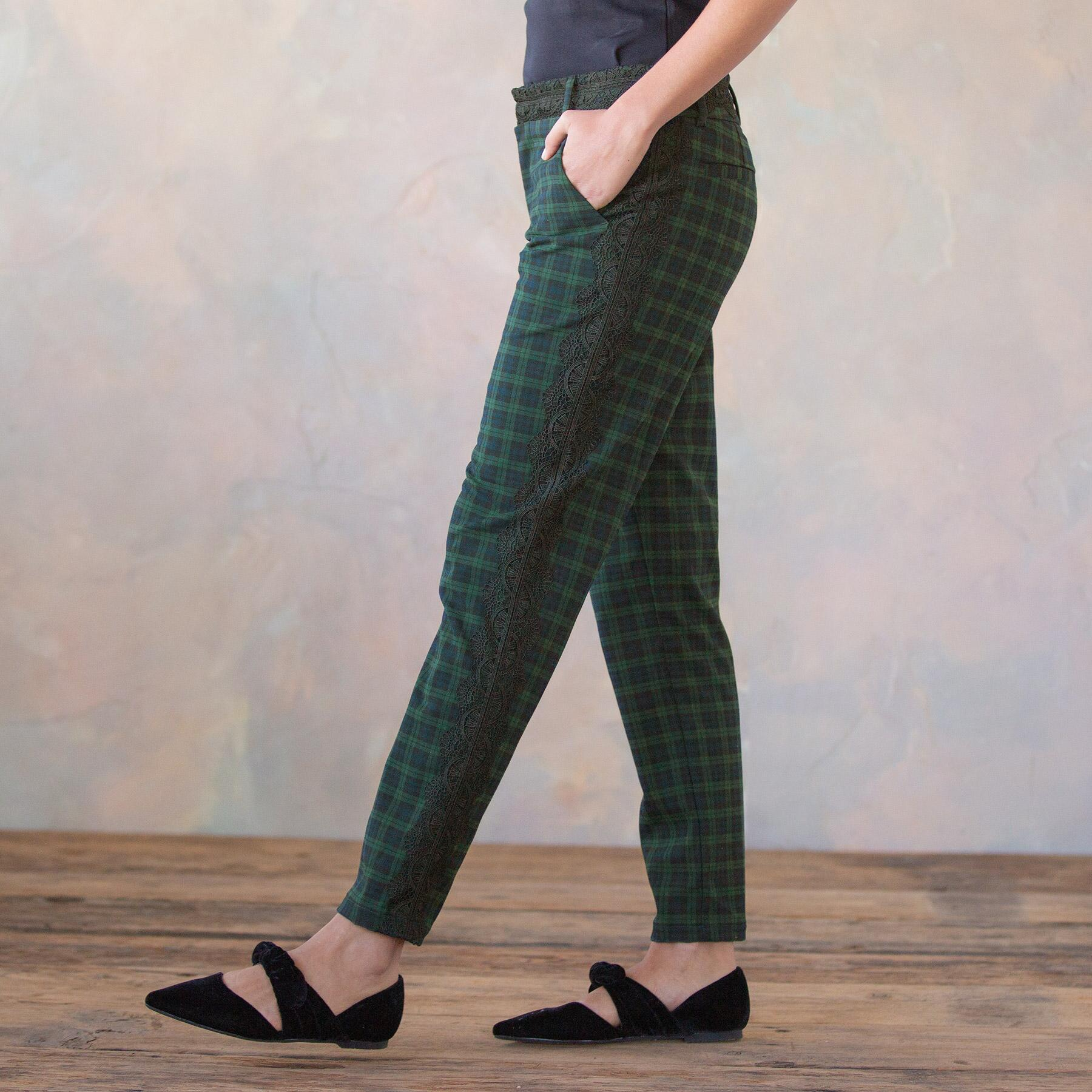DRESSED UP PLAID TROUSERS: View 3
