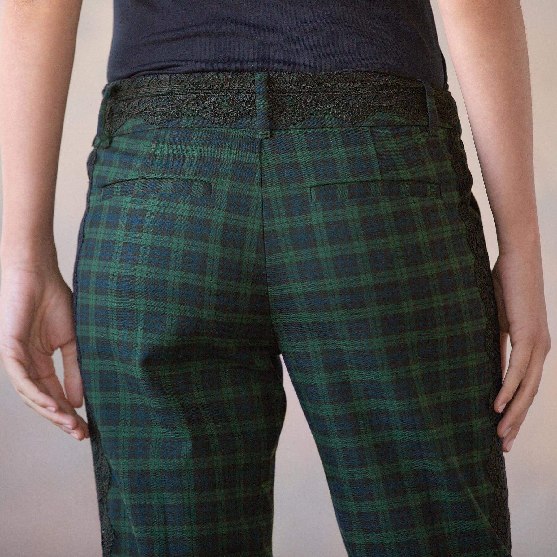 DRESSED UP PLAID TROUSERS: View 5