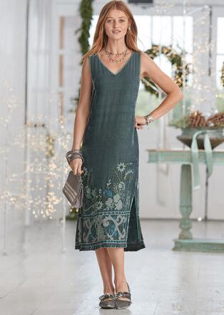 Womens Long Dresses Robert Redfords Sundance Catalog