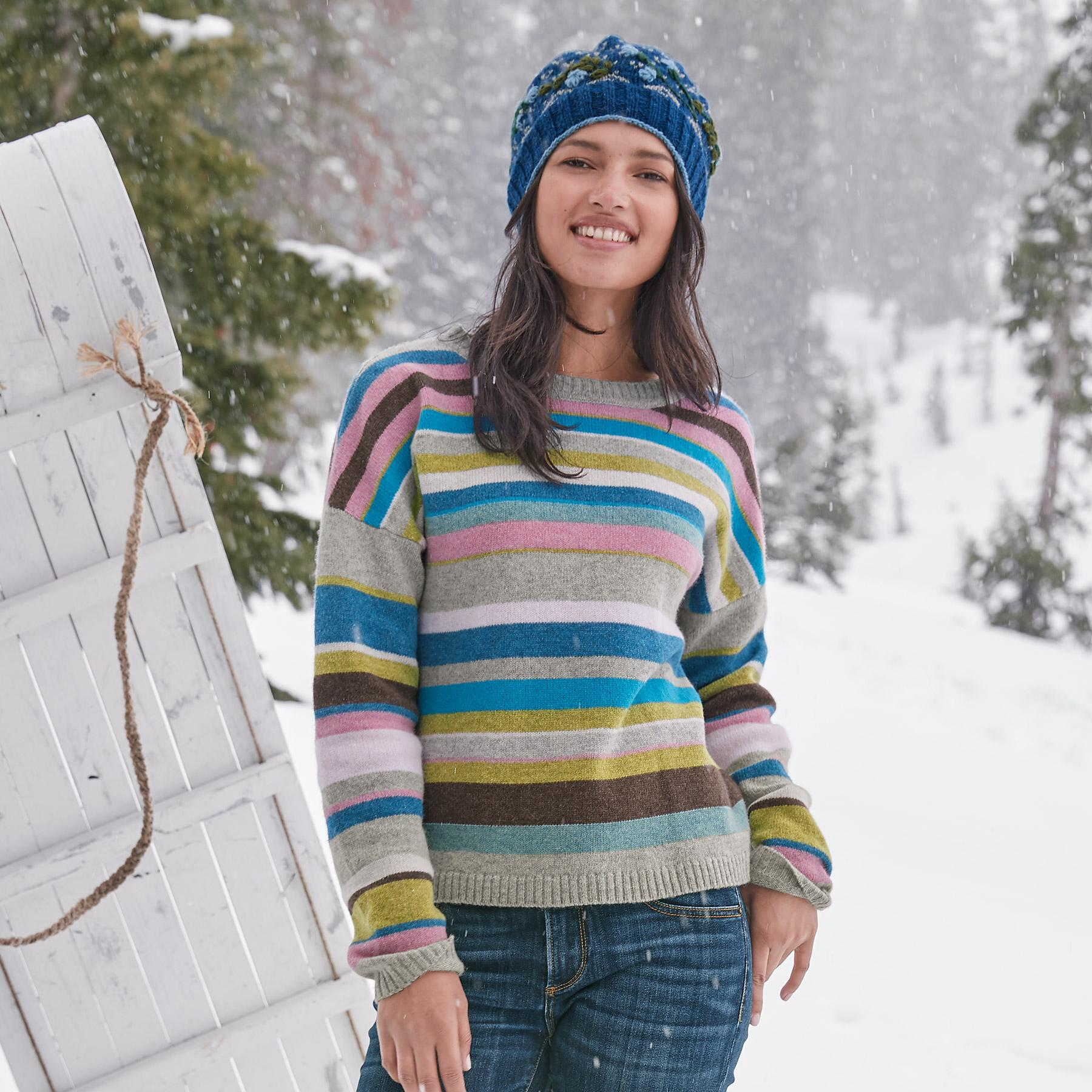 JOYFUL STRIPE PULLOVER: View 2