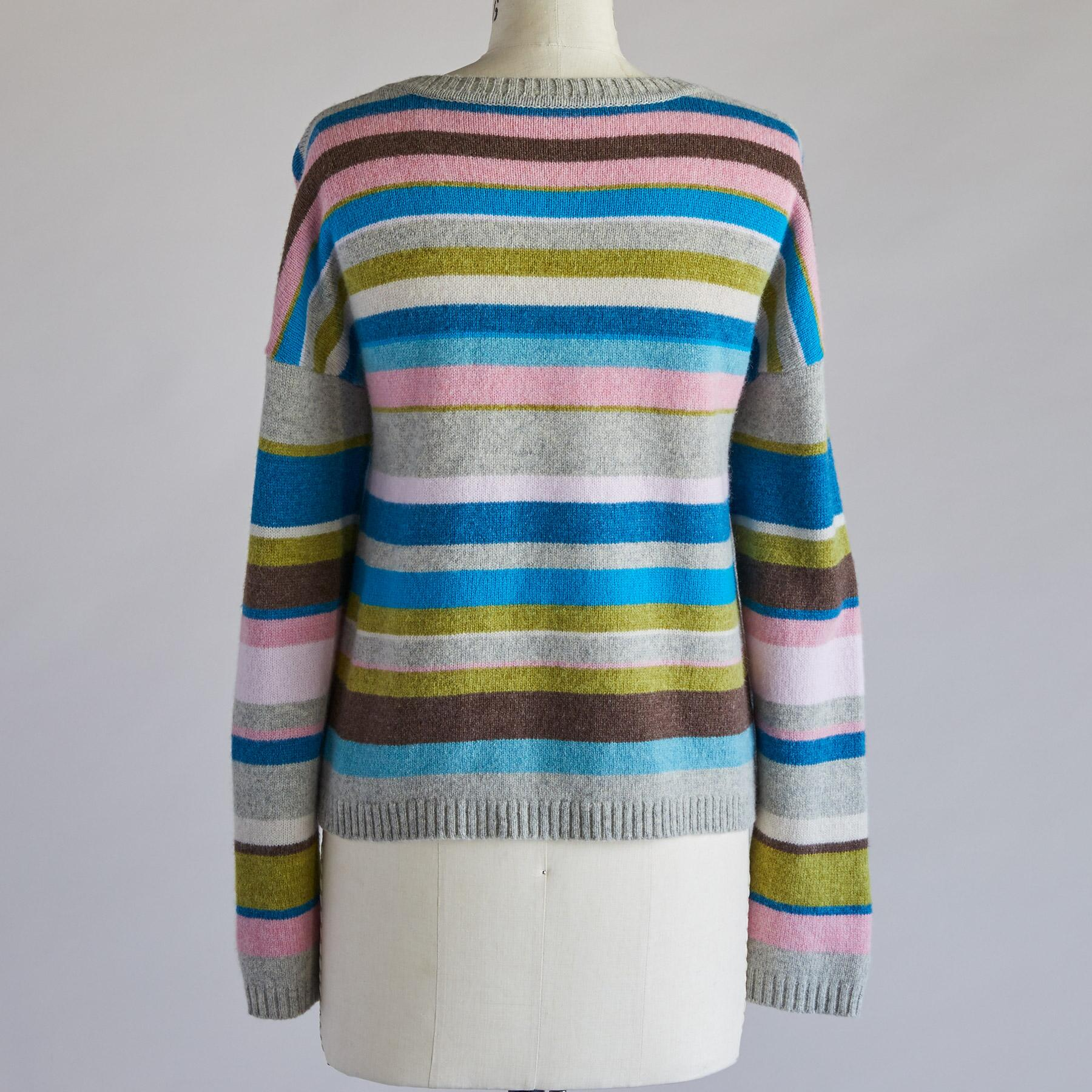 JOYFUL STRIPE PULLOVER: View 3