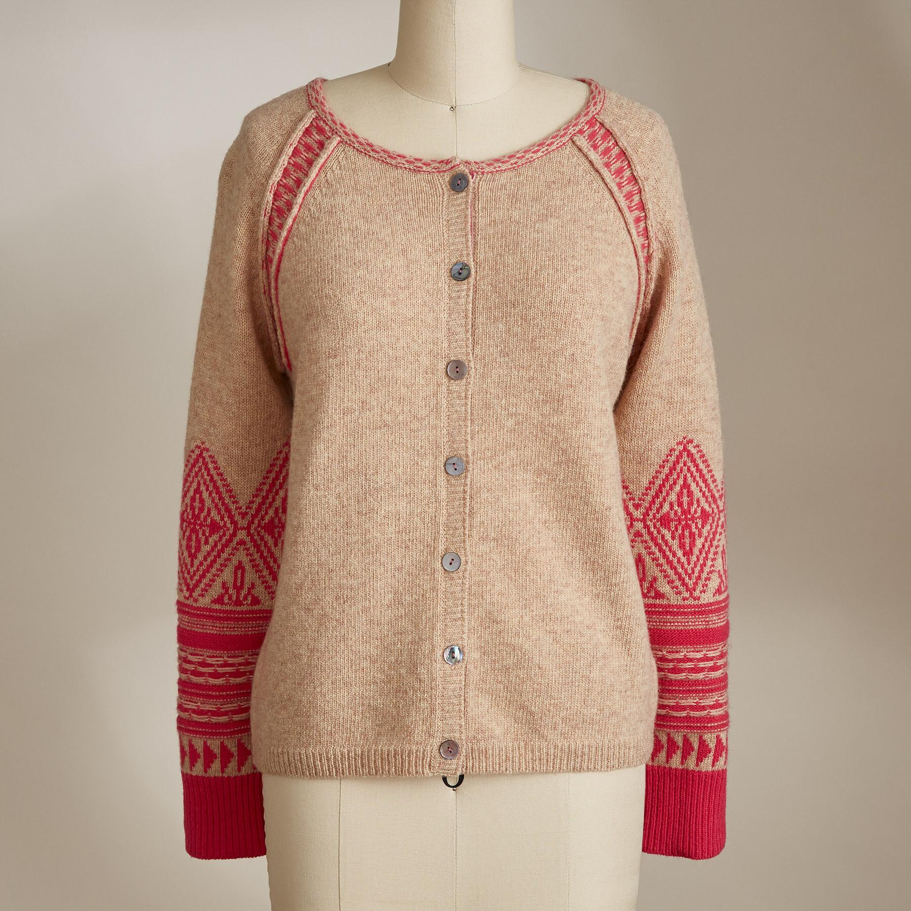 SOPHIE FAIR ISLE CARDIGAN: View 2