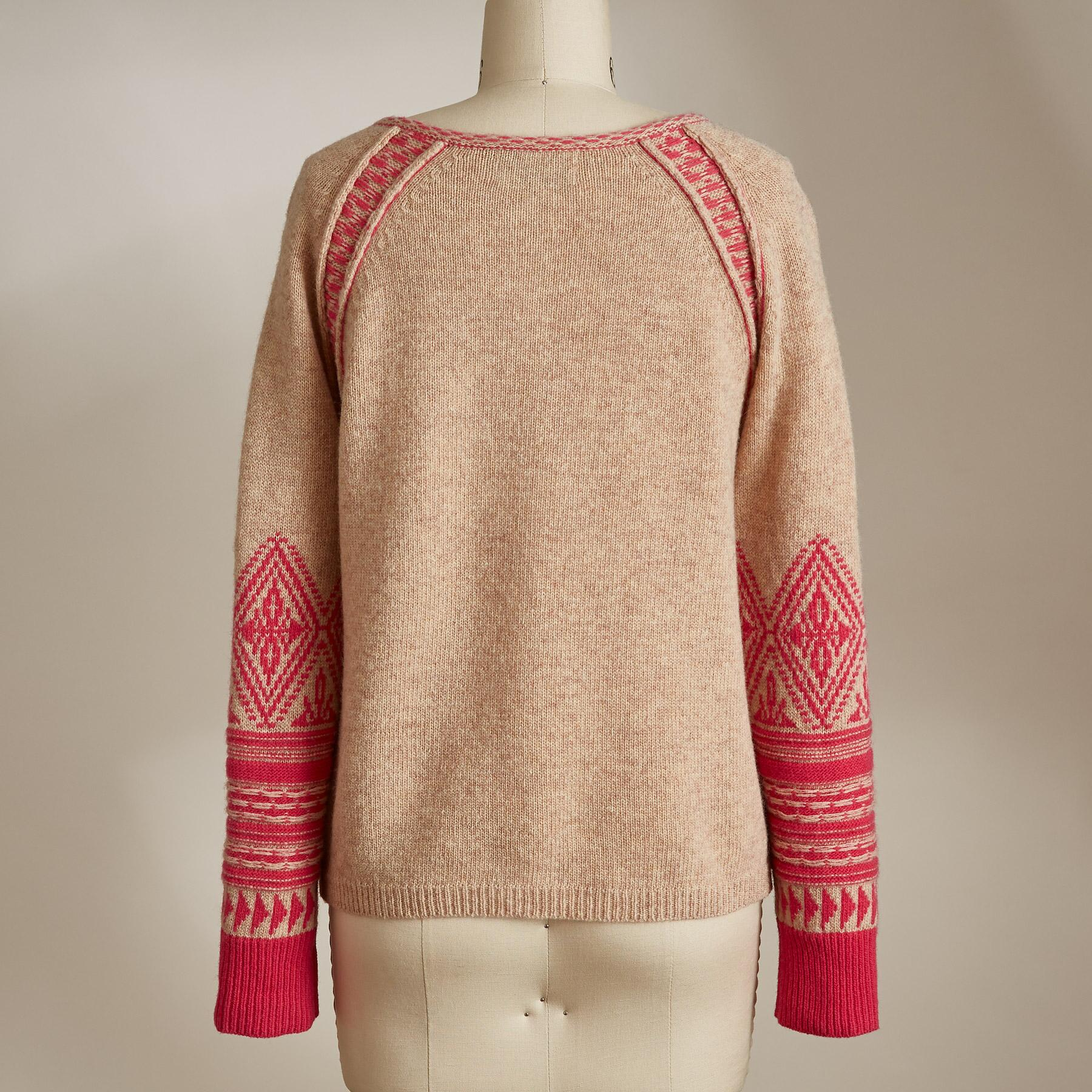 SOPHIE FAIR ISLE CARDIGAN: View 3