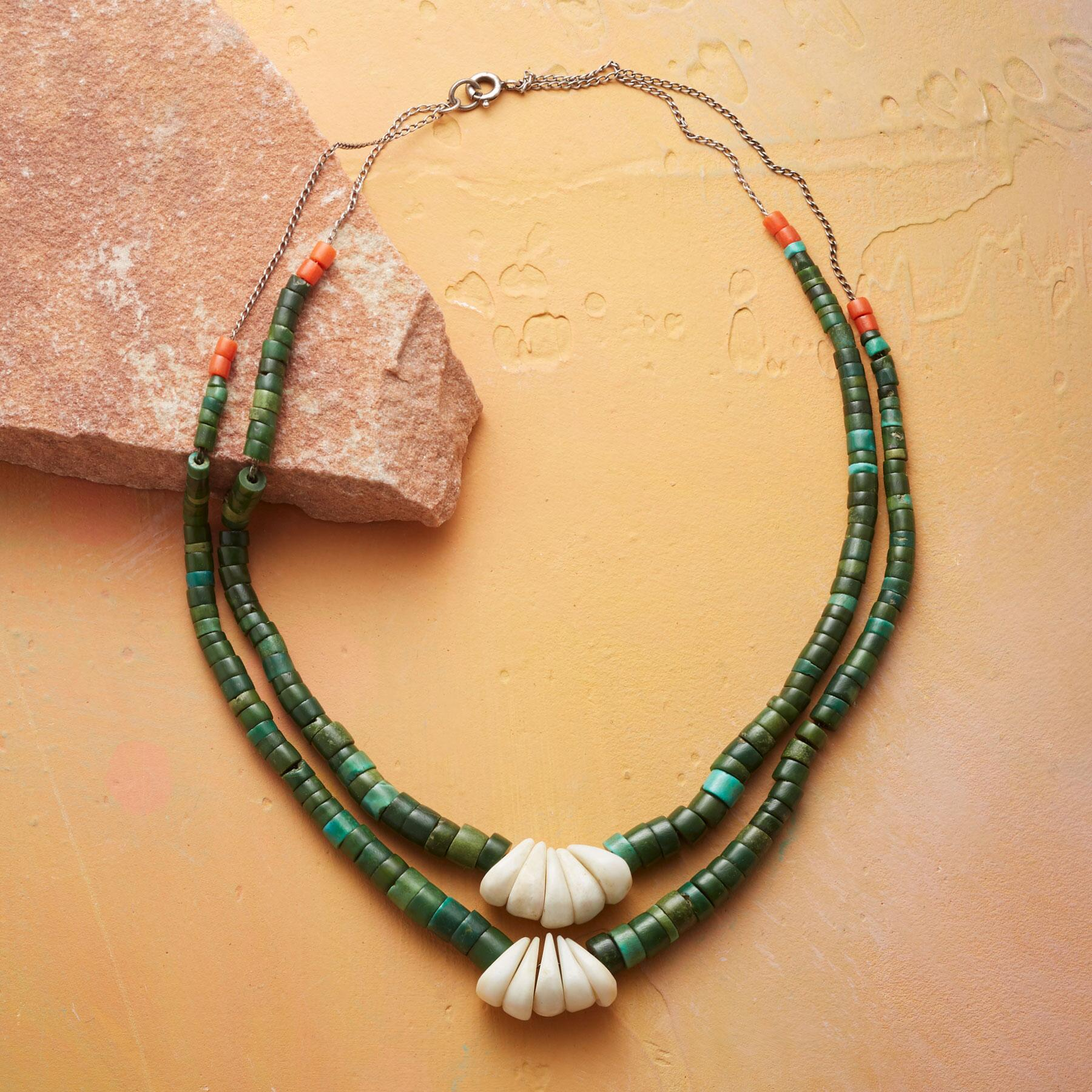 1910 TURQUOISE HEISHI NECKLACE: View 2