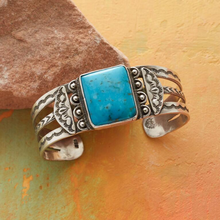 CENTRAL SQUARE TURQUOISE CUFF