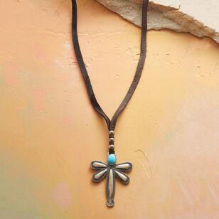 DRAGONFLY GUARDIAN NECKLACE