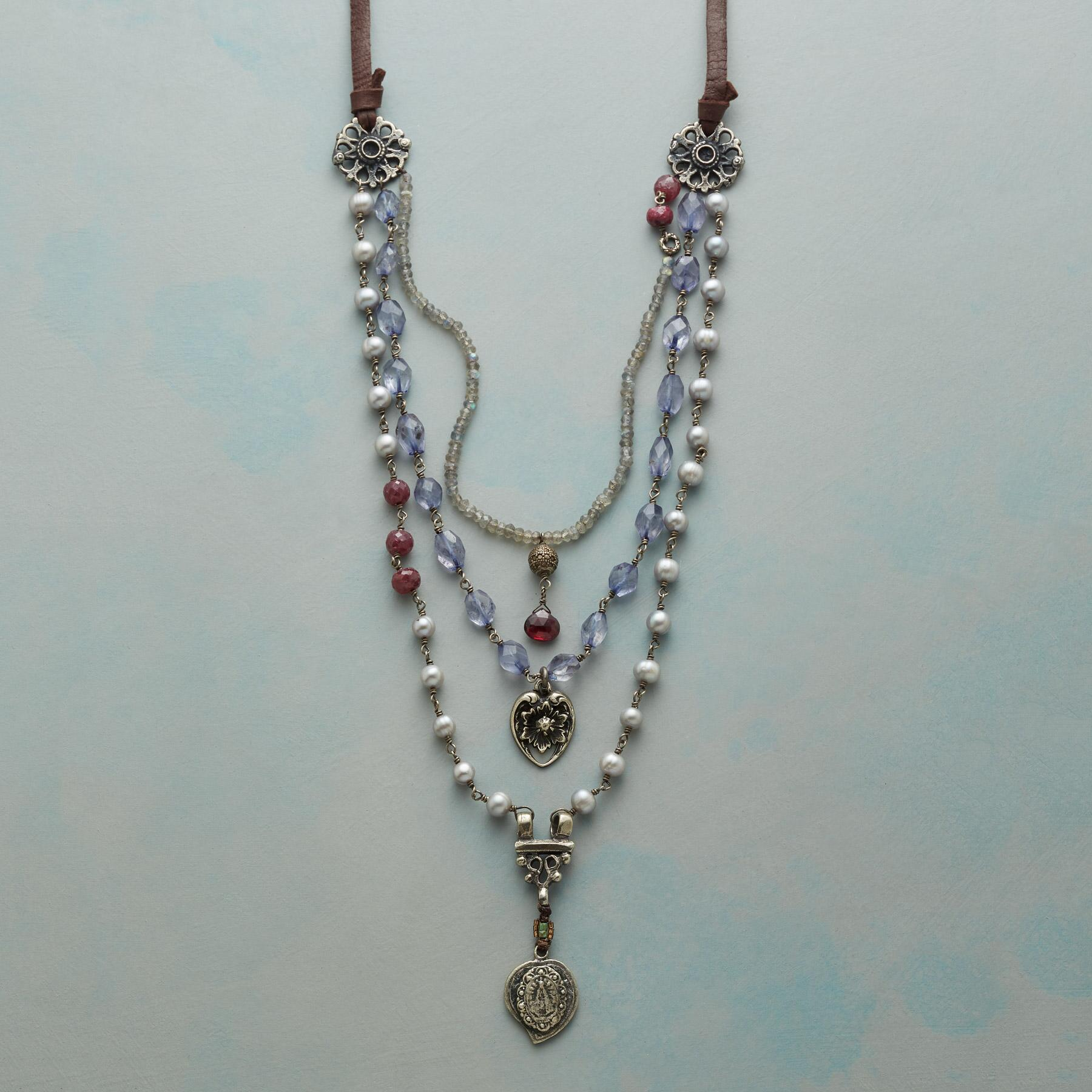 STORIED ROMANCE NECKLACE: View 1