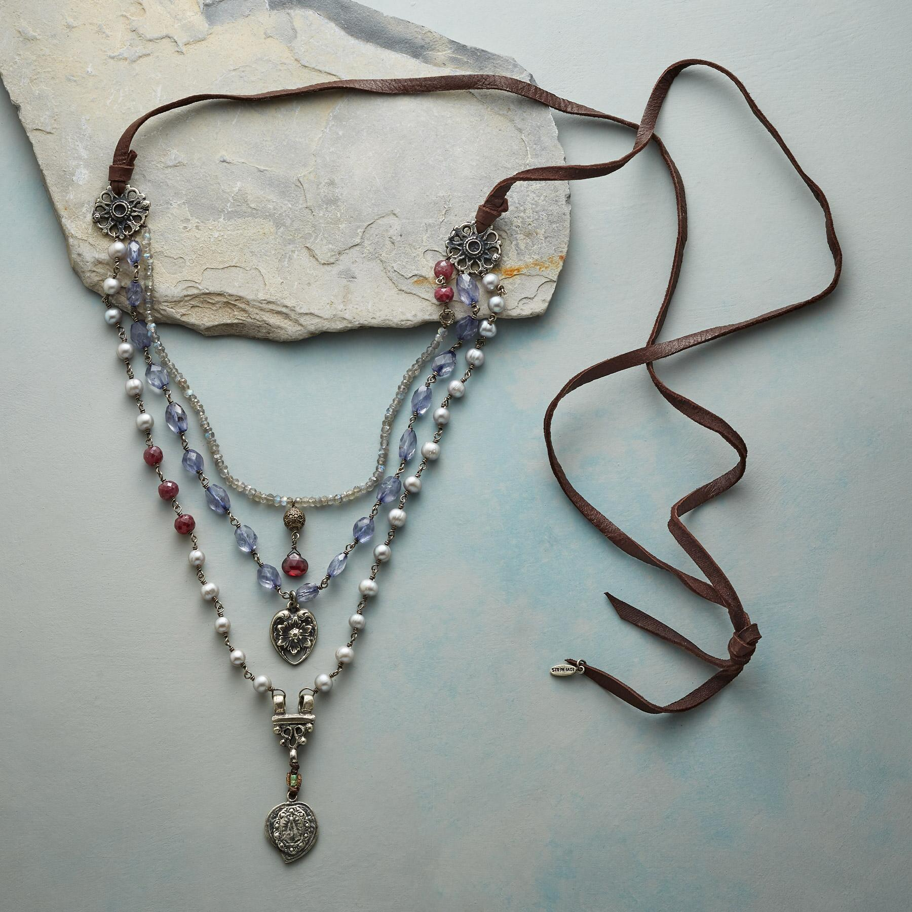 STORIED ROMANCE NECKLACE: View 2