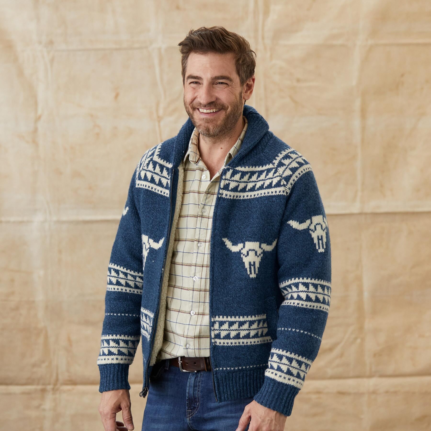 LONGHORN SWEATER JACKET: View 2