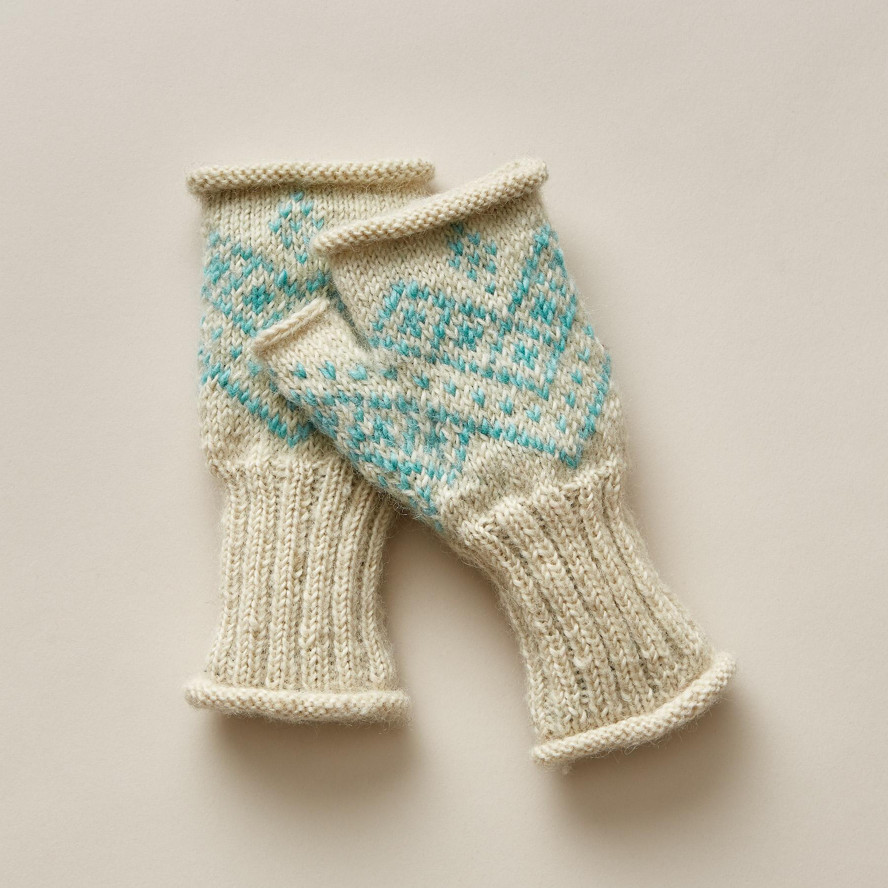 NELLIE FINGERLESS GLOVES: View 1