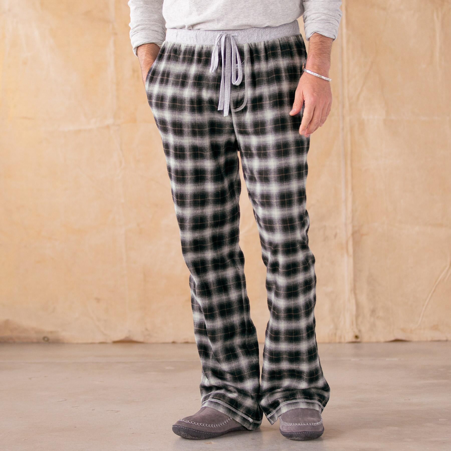 HEARKEN BACK LOUNGE PANTS-BLACK: View 1