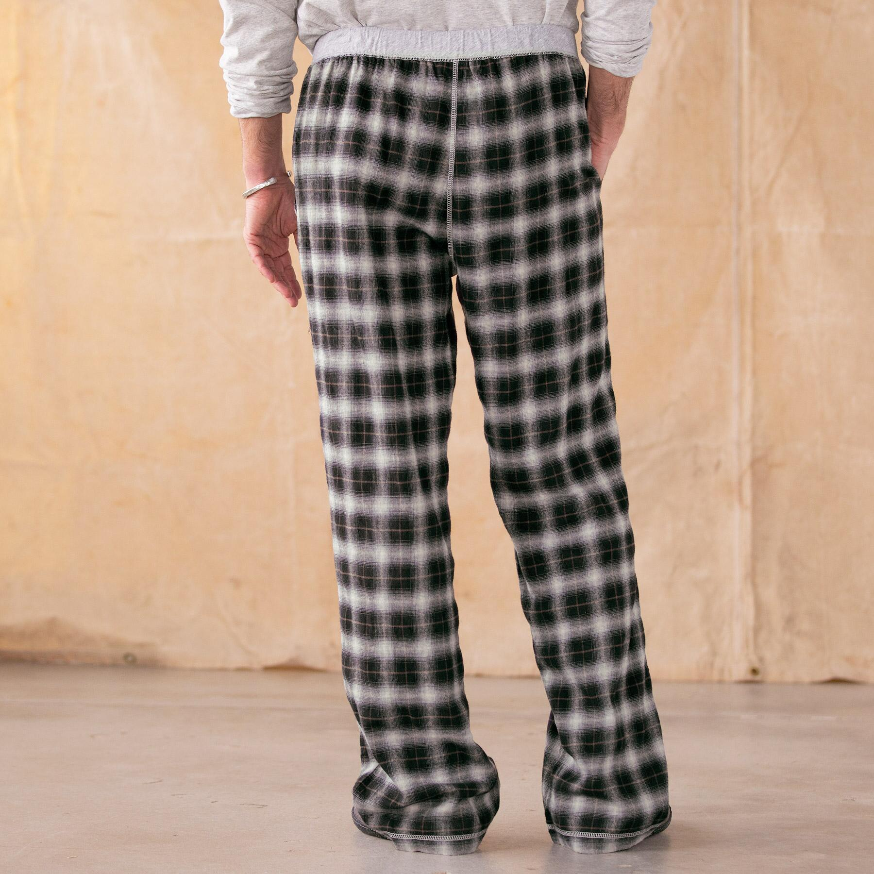 HEARKEN BACK LOUNGE PANTS-BLACK: View 2