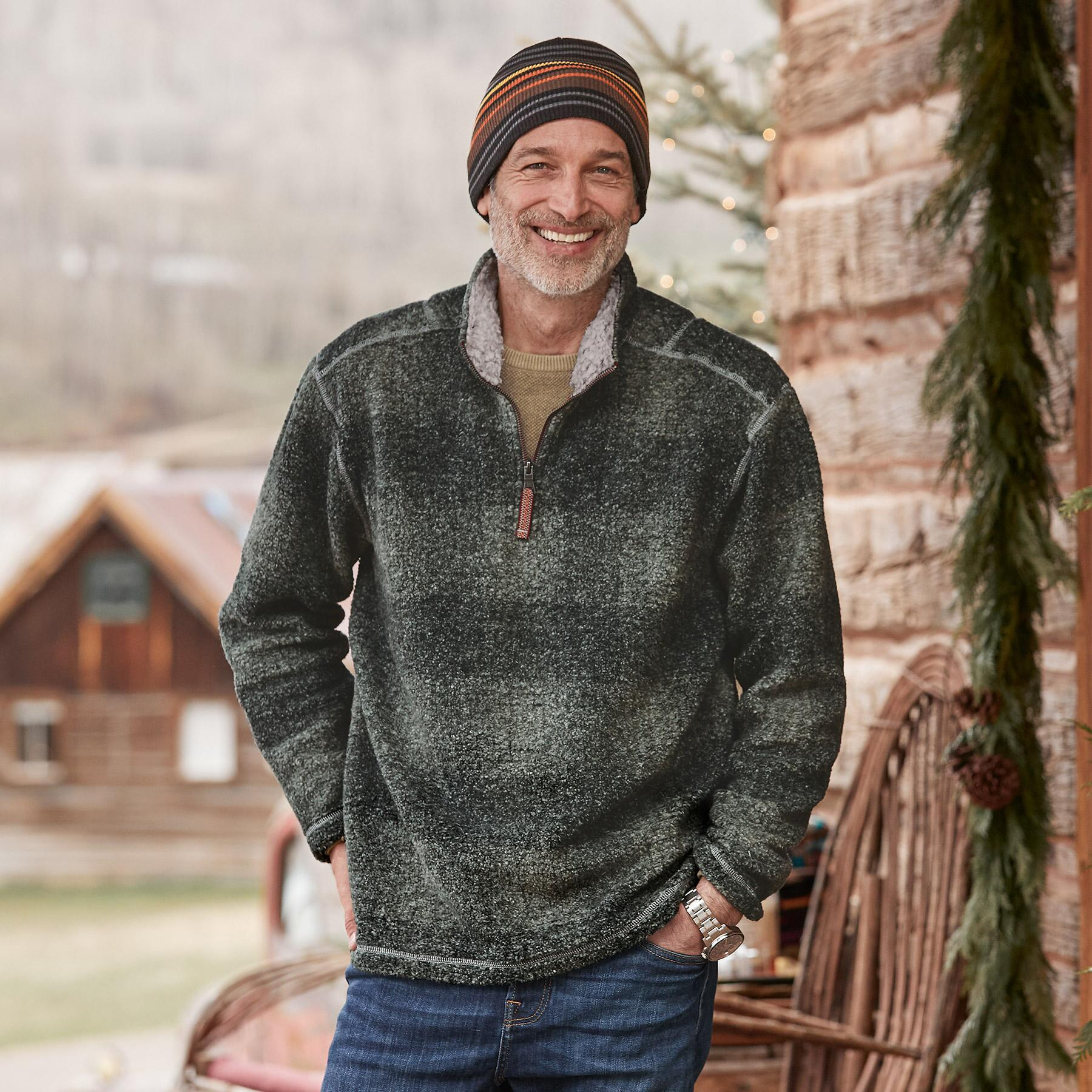 ROARING CREEK 1/4 ZIP PULLOVER: View 1