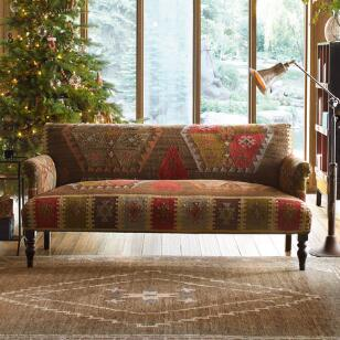 REDLANDS KILIM LOVESEAT