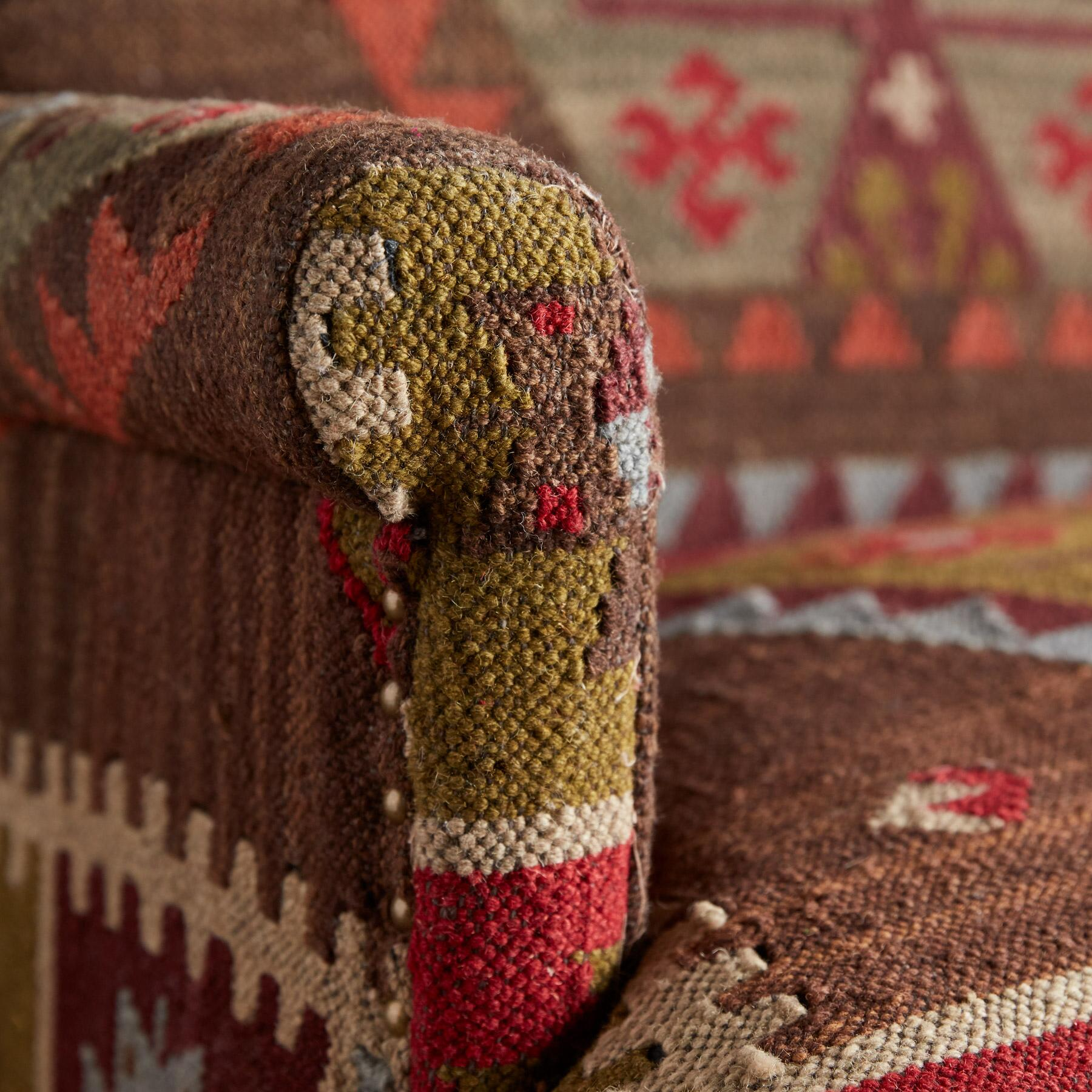 REDLANDS KILIM LOVESEAT: View 3