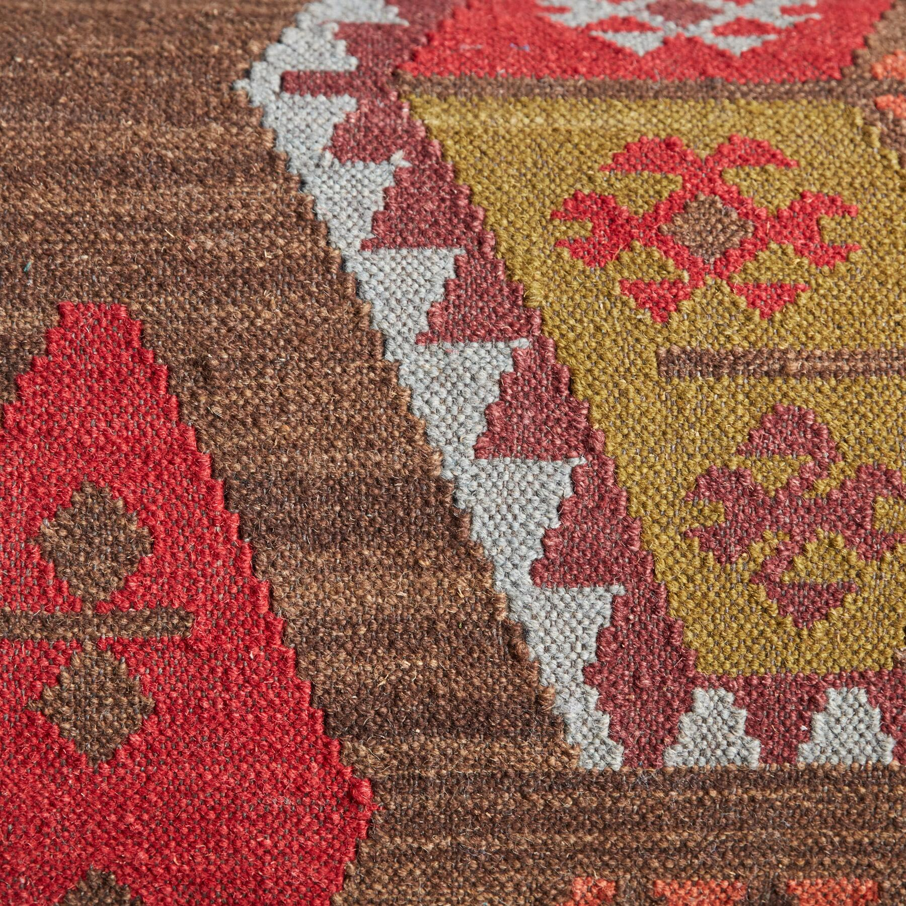 REDLANDS KILIM LOVESEAT: View 5
