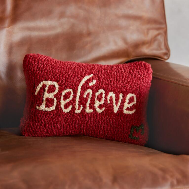 BELIEVE MINI PILLOW