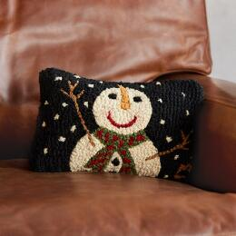 SNOWMAN MINI PILLOW