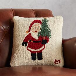 HOLIDAY SANTAS TREE PILLOW