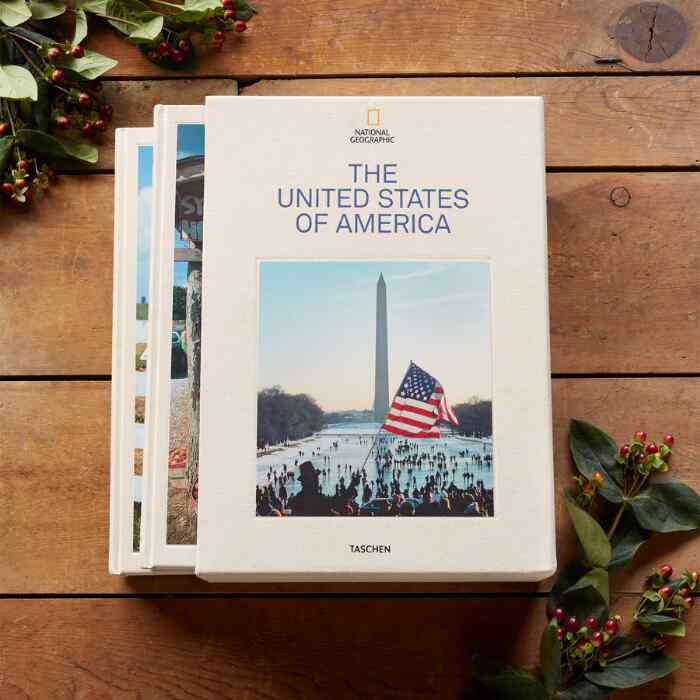 NATIONAL GEOGRAPHIC THE UNITED STATES OF AMERICA BOOK