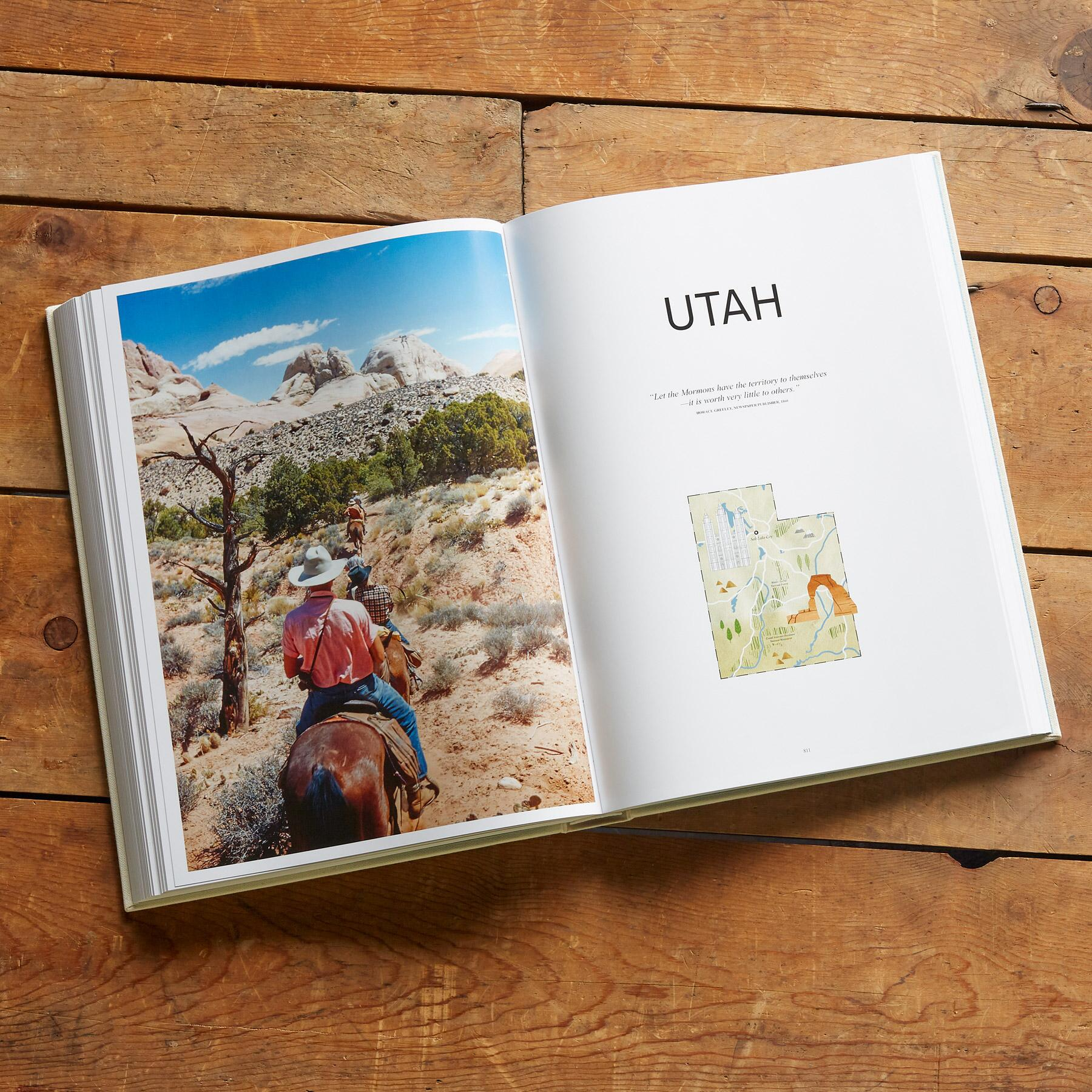 NATIONAL GEOGRAPHIC THE UNITED STATES OF AMERICA BOOK: View 6