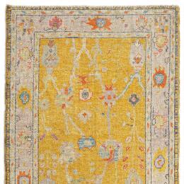 Gulbahar Oushak Hand Knotted Rug, Large