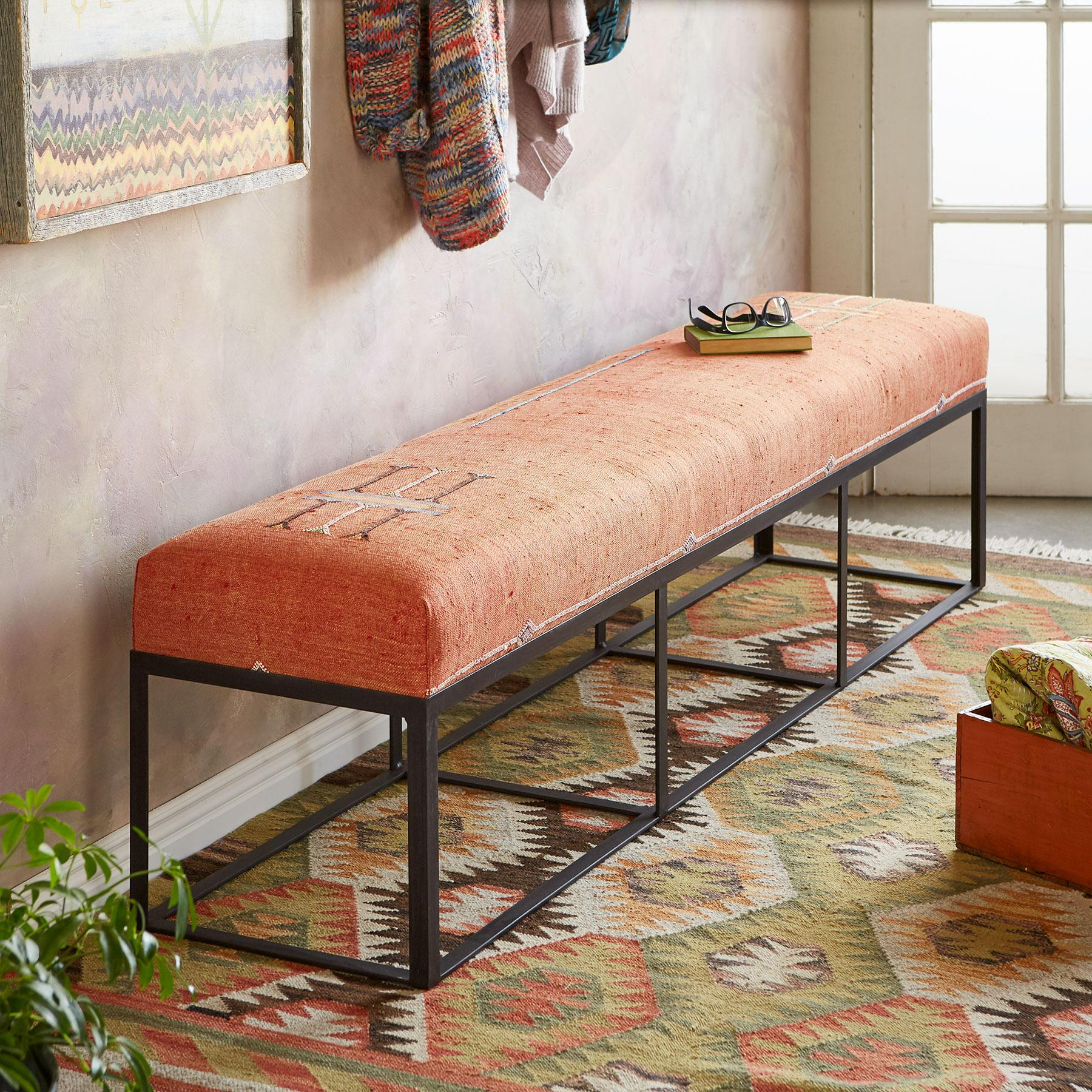 JBEL SIRWG MOROCCAN BENCH: View 1