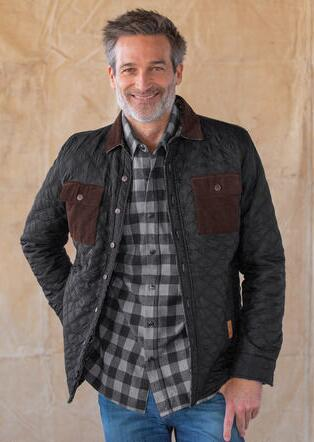 GENTLEMANLY & COOL REVERSIBLE JACKET