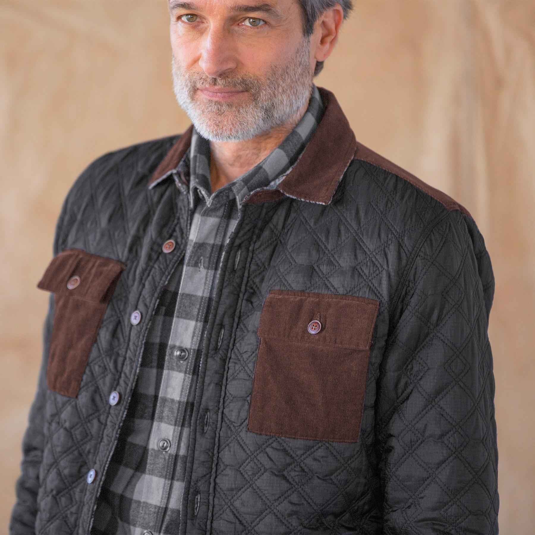 GENTLEMANLY & COOL REVERSIBLE JACKET: View 3