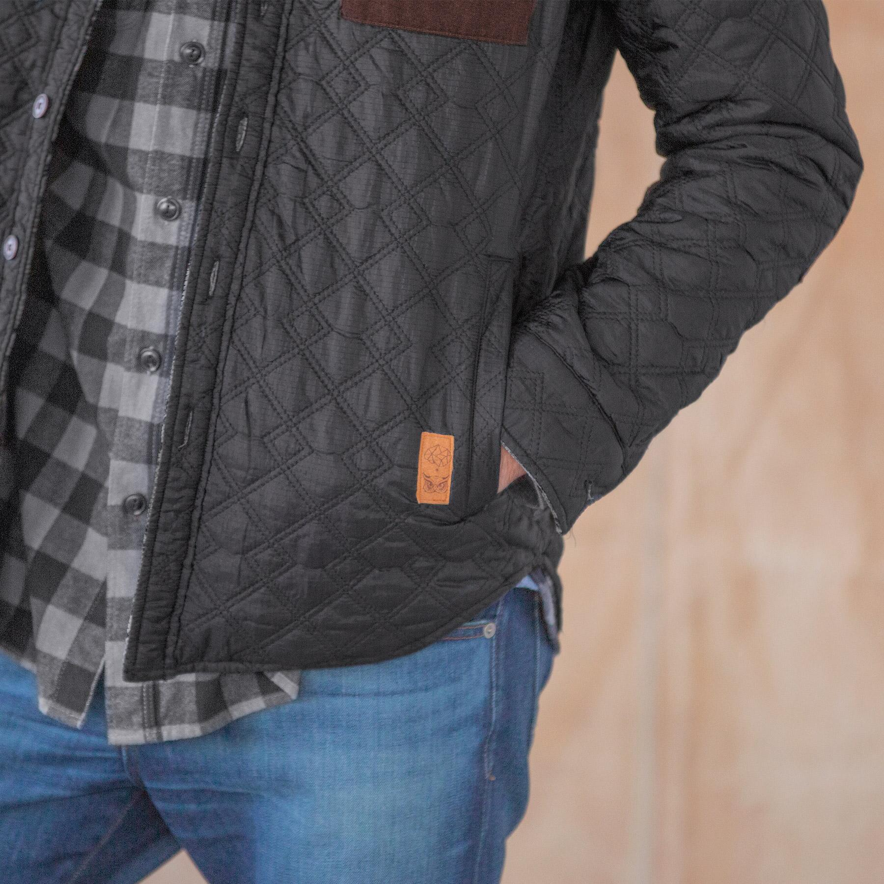 GENTLEMANLY & COOL REVERSIBLE JACKET: View 4