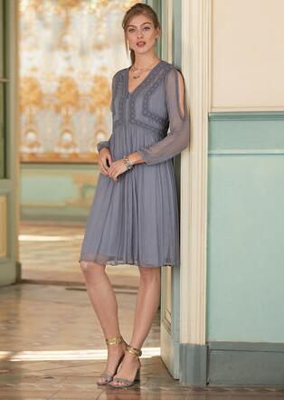 TIME AFTER TIME DRESS - PETITES