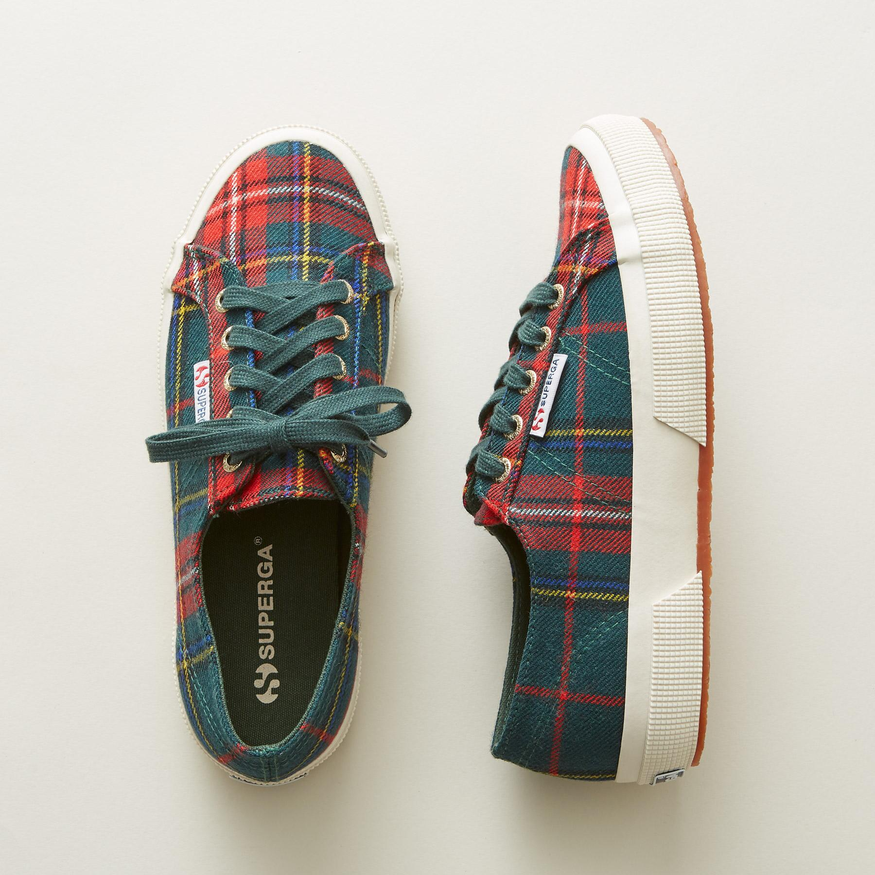 757f4c9f792f TARTAN SNEAKERS PLAID
