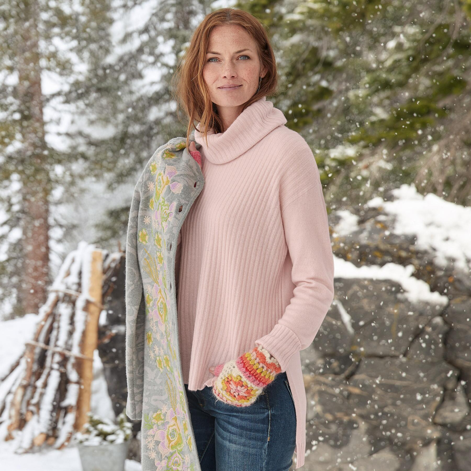 GRACE CASHMERE PULLOVER: View 1