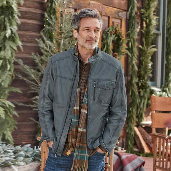 CALLISTER LEATHER JACKET