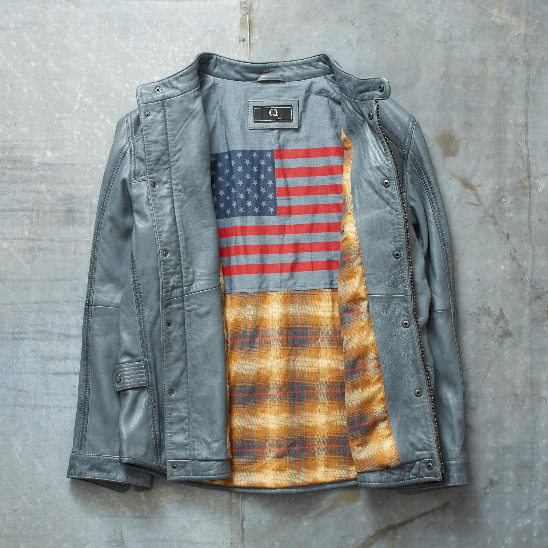 CALLISTER LEATHER JACKET: View 3