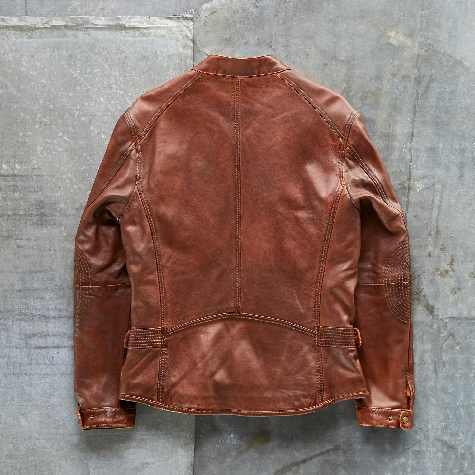 CALLISTER LEATHER JACKET: View 4