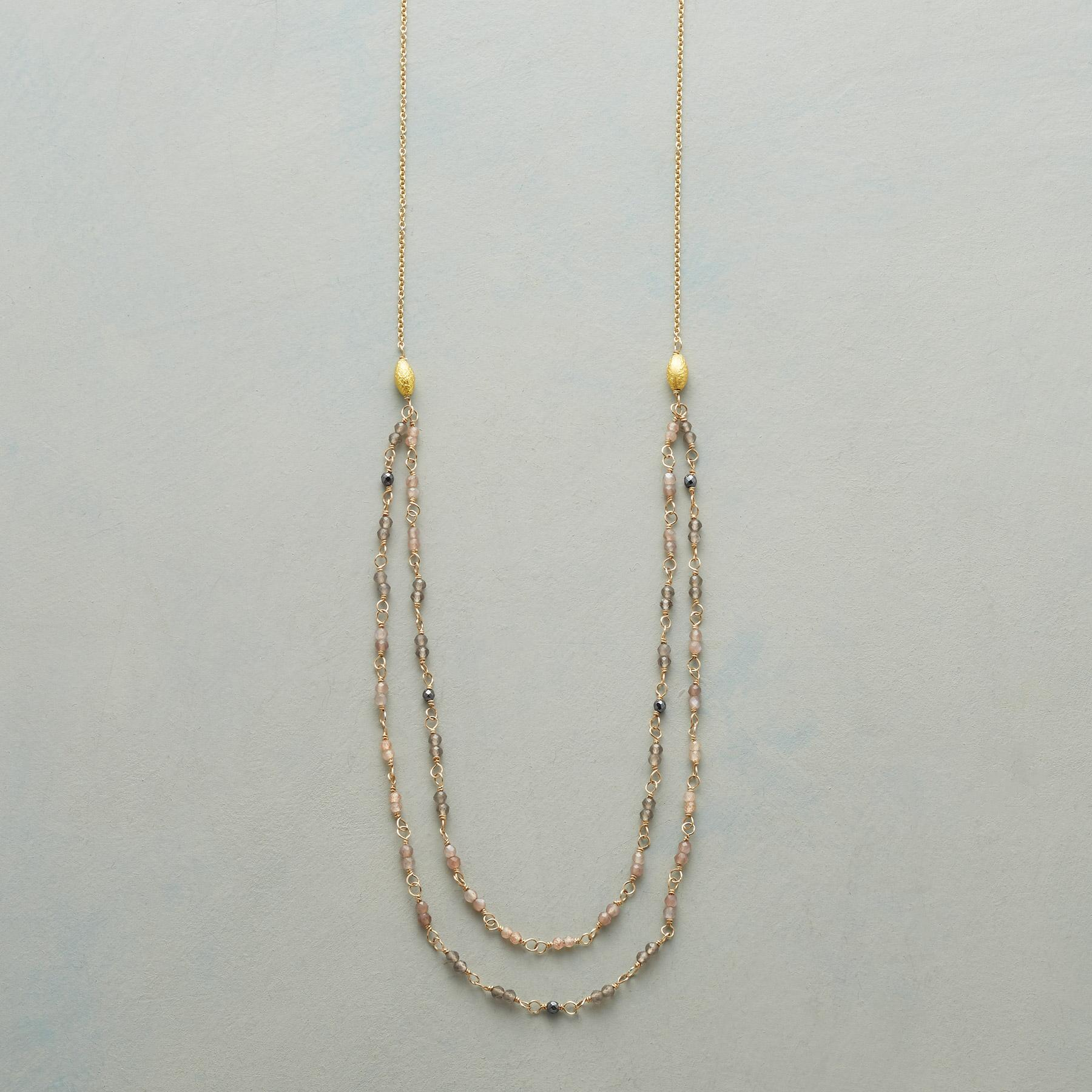 MOONSTONE HUES NECKLACE: View 1