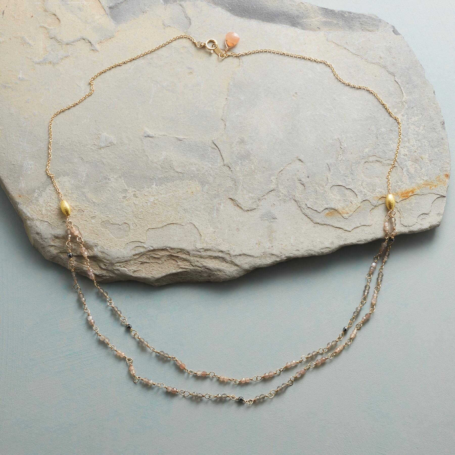 MOONSTONE HUES NECKLACE: View 2
