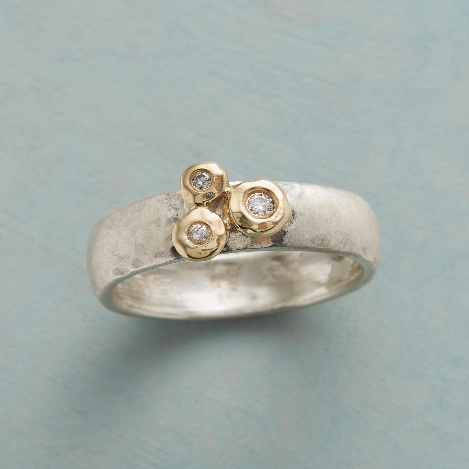 TIMELESS TRIO DIAMOND RING: View 1