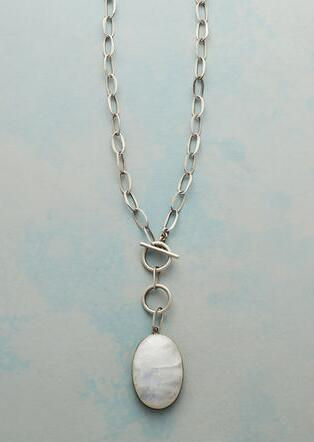 FULL MOONSTONE NECKLACE