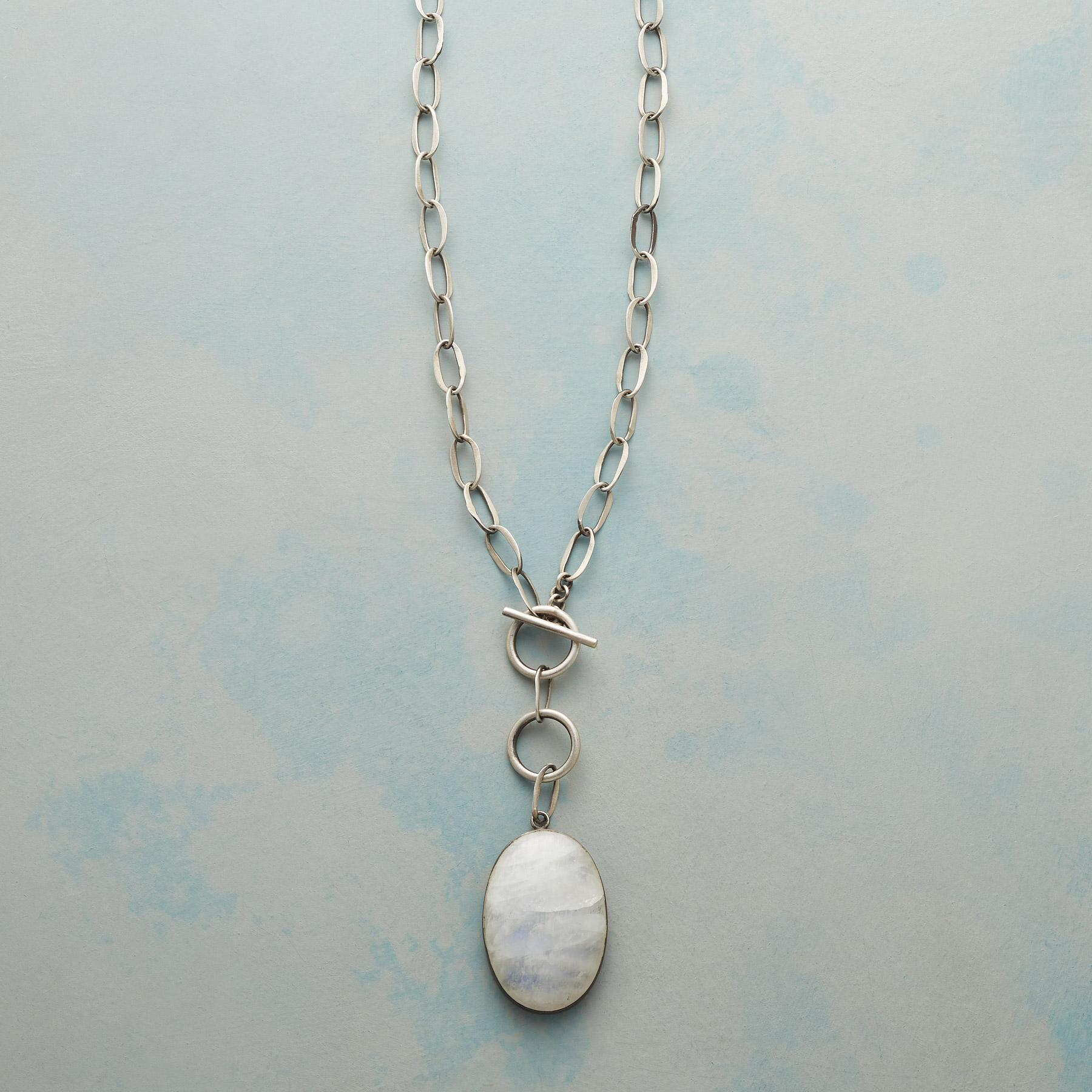FULL MOONSTONE NECKLACE: View 1