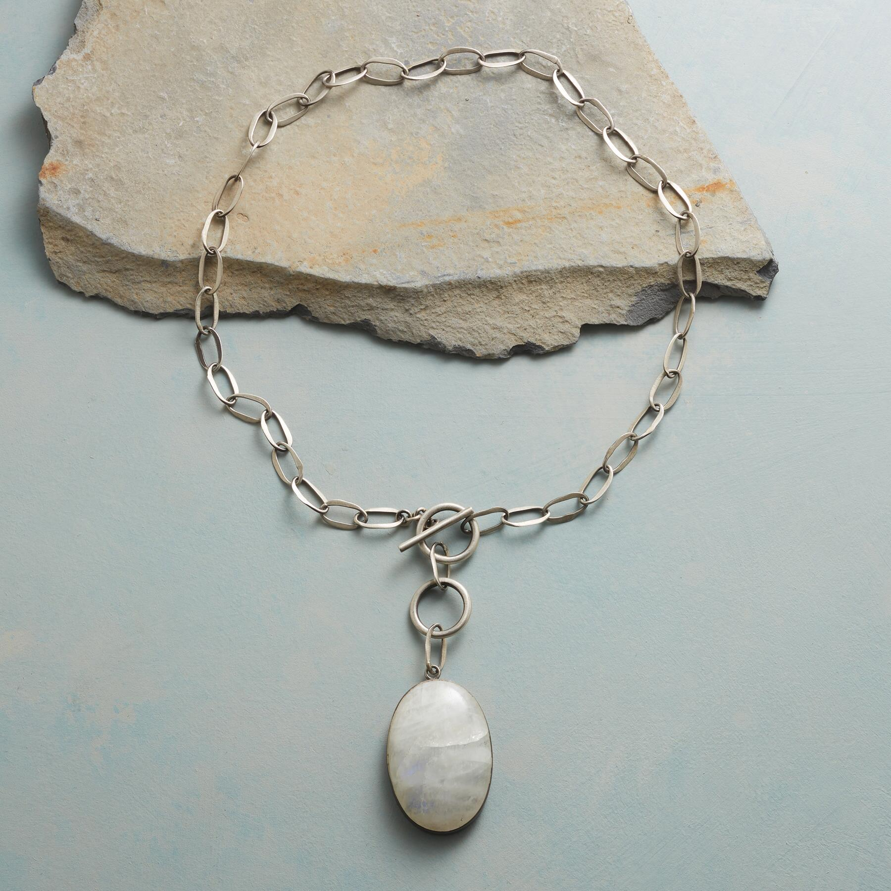 FULL MOONSTONE NECKLACE: View 2