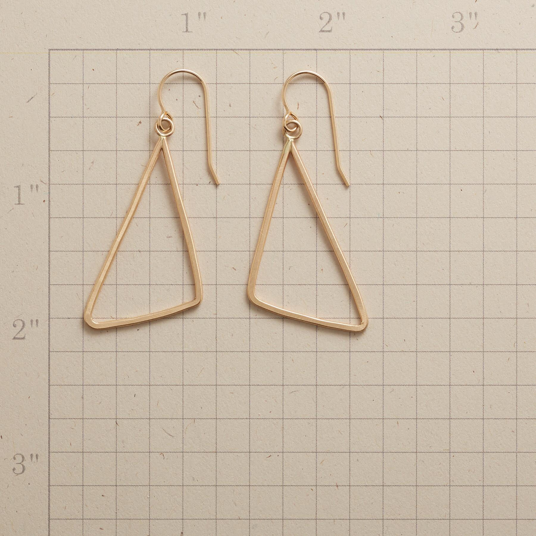 TRY ANGLE EARRINGS: View 2