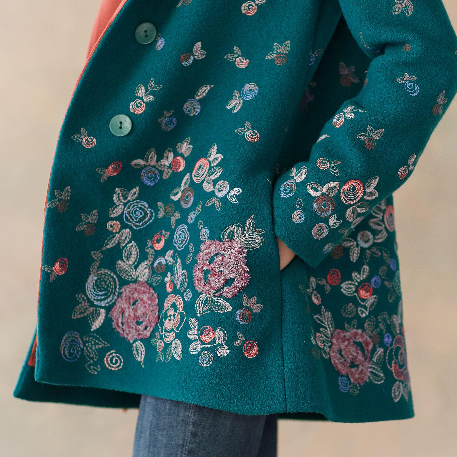 SNOW BLOOM JACKET: View 6