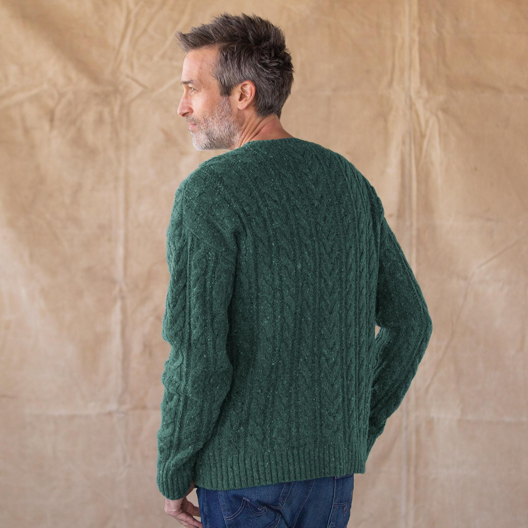 CABLE PULLOVER: View 2