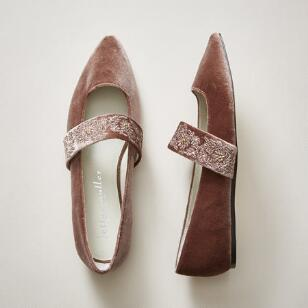 ARIENNE SEQUINED FLATS
