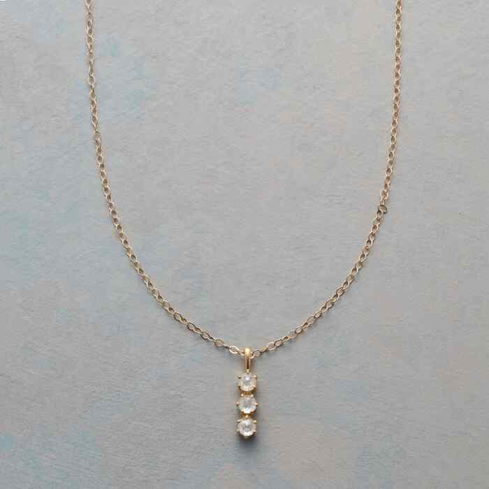 SALT & PEPPER DIAMOND NECKLACE
