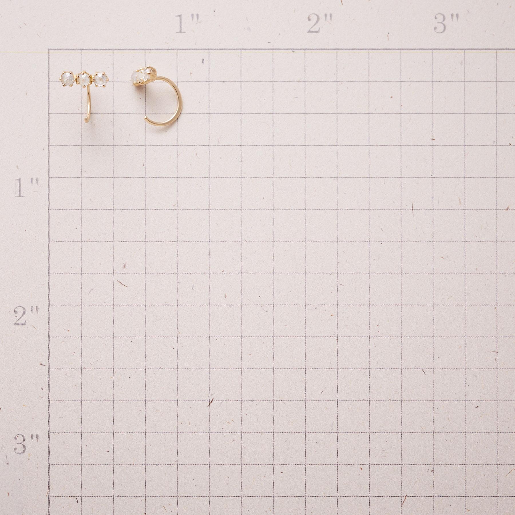 MILKY WAY DIAMOND EARRINGS: View 2